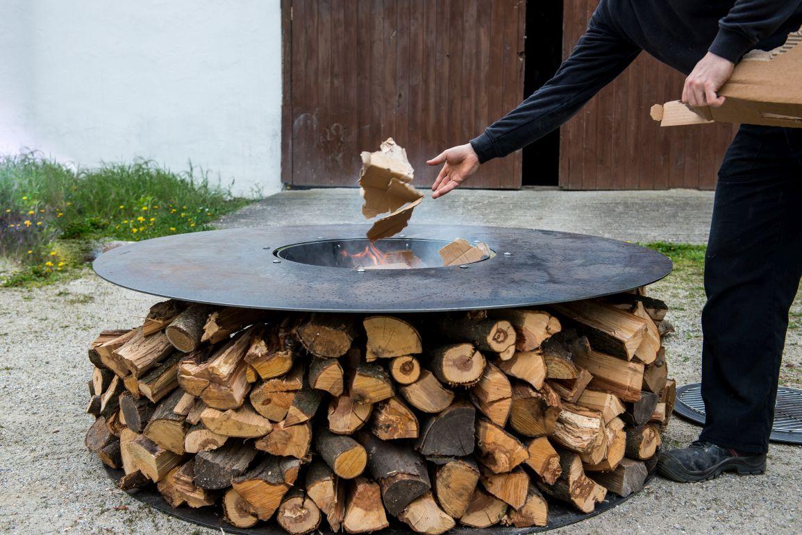feuerstelle / grill - stefan charous metall.hand.werk